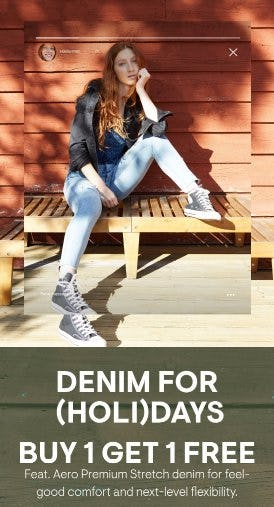 Buy 1, Get 1 Free Denim from Aéropostale
