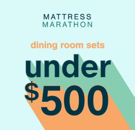 Dining Room Sets Under $500 from Ashley Homestore