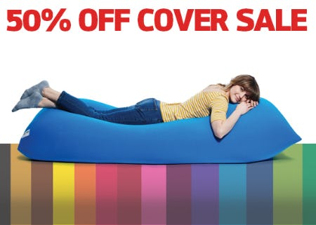 50% Off Cover Sale from Yogibo