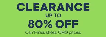 Clearance up to 80% Off from Aéropostale
