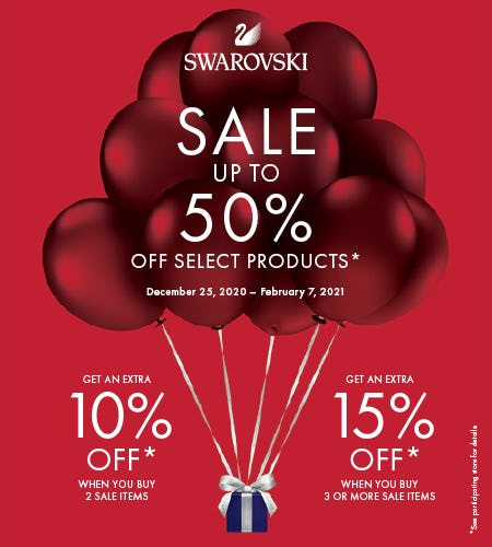 Swarovski Winter Sale from Swarovski