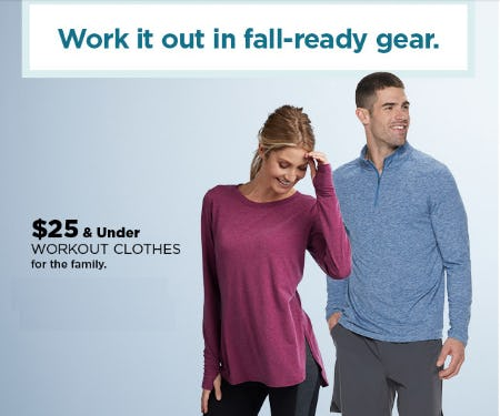 $25 & Under Workout Clothes from Kohl's
