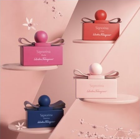 Signorina Fashion Edition: The New Fragrances Capsule Collection from Salvatore Ferragamo