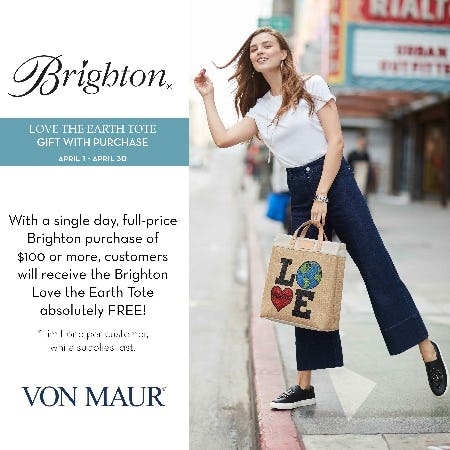 Brighton Gift With Purchase from Von Maur