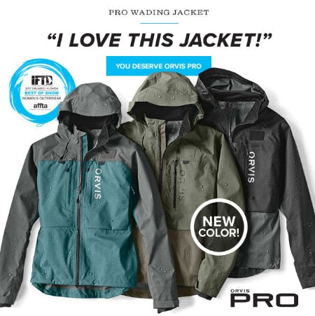 PRO Wading Jacket from Orvis