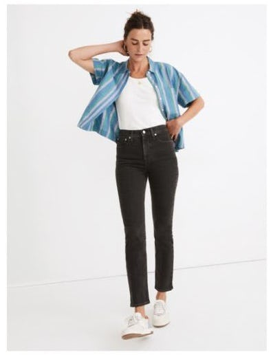 Hey, Hey Perfect Vintage Jeans from Madewell