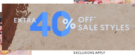 Extra 40% Off Sale from Banana Republic