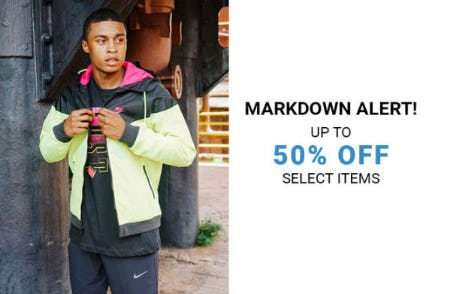 Up to 50% Off Markdowns from Hibbett Sports