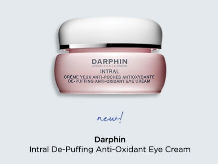Darphin Intral De-Puffing Anti Oxidant Eye Cream from Blue Mercury