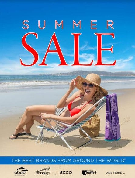Summer Sale from THE WALKING COMPANY