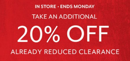 Additional 20% Off Already Reduced Clearance from Sur La Table