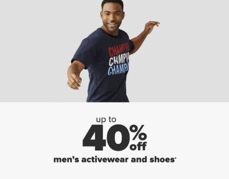 Up to 40% Off Men's Activewear & Shoes from Belk