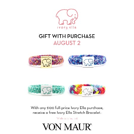 Ivory Ella Gift with Purchase