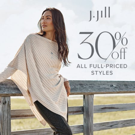 30% off Full-Priced Styles