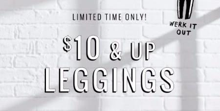$10 & Up Leggings