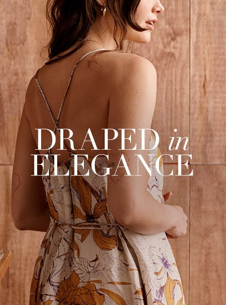 Meet the Backless Ramie Dresses from Banana Republic