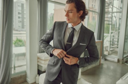 The Harrogate Charcoal Suit from Indochino