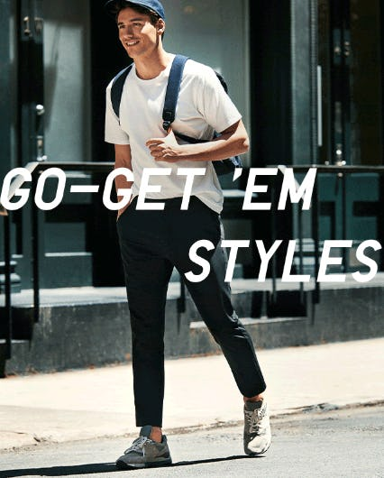 Go-Get 'Em Styles from Uniqlo