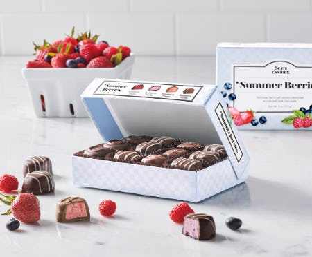 Summer's Berry Best from See's Candies