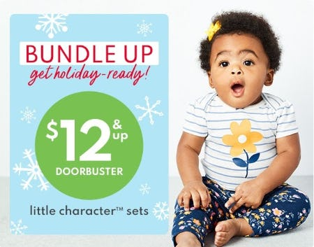 $12 & Up Doorbuster Little Character Sets