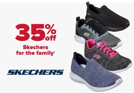 35% Off Skechers from Belk