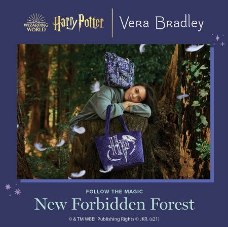 Shop our NEW Harry Potter Collection! from Vera Bradley