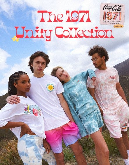 The New Coca-Cola 1971 Unity Collection from PacSun