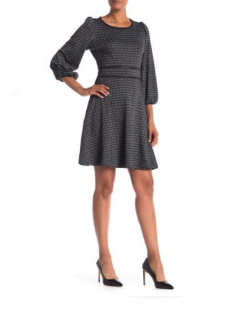 Max Studio Knit Jacquard Dress At Nordstrom Rack Towson Town Center