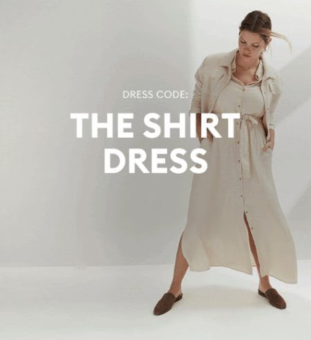 New Favorite: Shirt Dress from Banana Republic