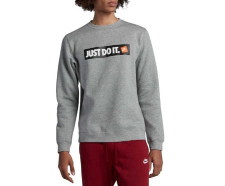 Nike Men's Sportswear Just Do It Fleece Pullover from Dick's Sporting Goods