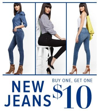 New Jeans Buy One, Get One $10 from New York & Company