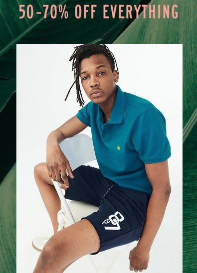 50-70% Off Everything