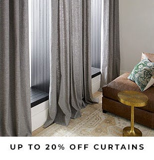 Up to 20% Off Curtains from Pottery Barn