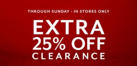 Extra 25% Off Clearance from Sur La Table