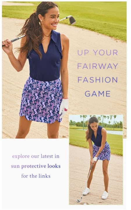 Gimme New Lilly Golf from Lilly Pulitzer