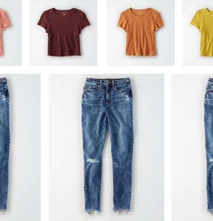 Just In: Jeans For All Your Crop Tops from American Eagle Outfitters