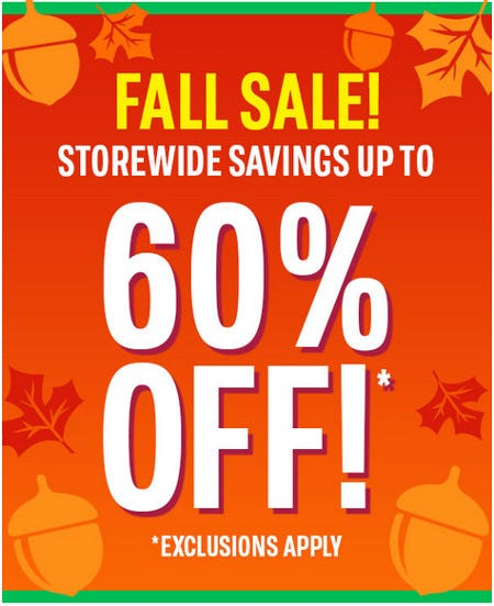 Storewide Savings Up to 60% Off from The Children's Place Gymboree