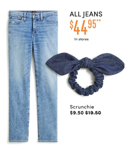All Jeans $44.95 from J.Crew Factory