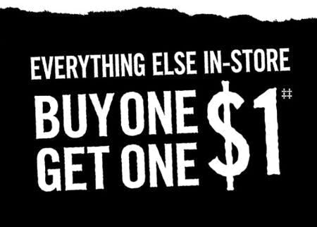 BOGO $1 Everything