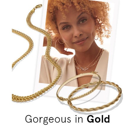 Gorgeous in Gold from Kay Jewelers