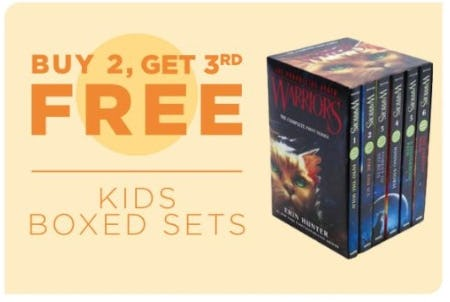 Buy 2, Get 3rd Free Kids Boxed Sets from Books-A-Million