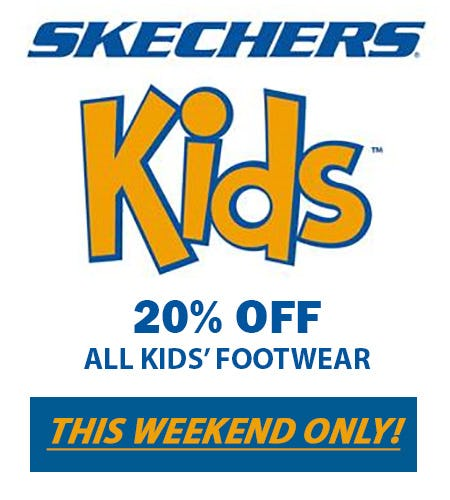 SKECHERS KIDS' WEEKEND SALE from Skechers