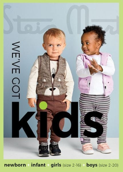 Introducing Kids' Fashion from Stein Mart
