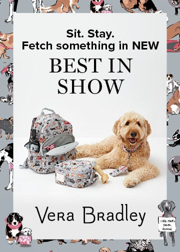 Bow-WOW! from Vera Bradley