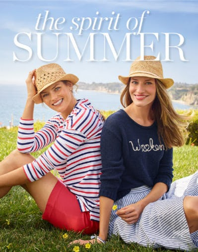 The Spirit of Summer from Talbots