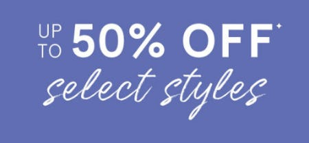 Up to 50% Off Select Styles from Kay Jewelers