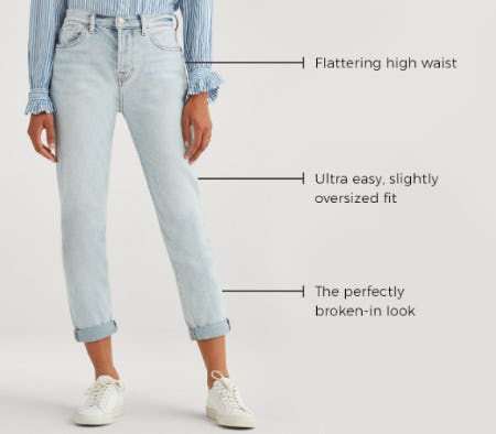 The Boyfriend Jean from 7 for All Mankind