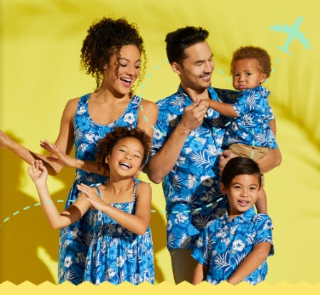 Family Vacation Mode Fashion from Disney Store