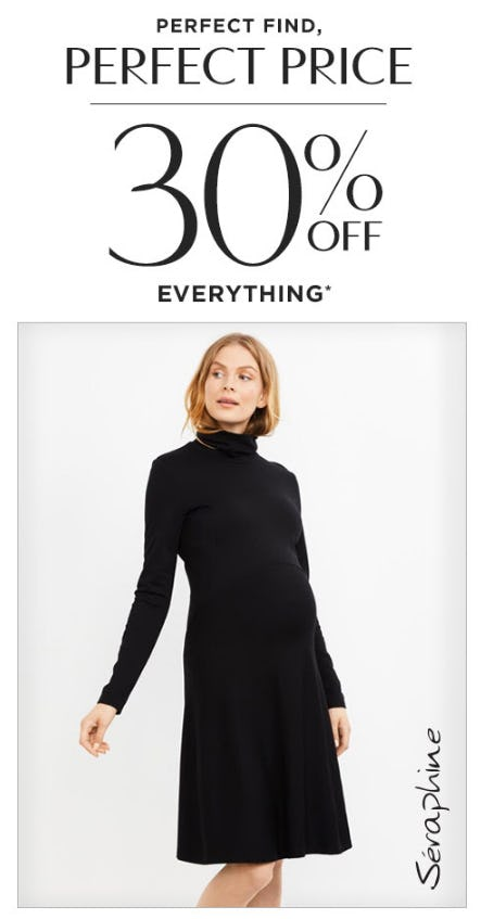 30% Off Everything from A Pea In The Pod
