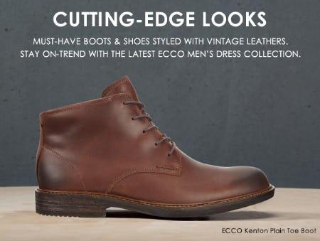 Shop the Latest ECCO Men's Dress Collection